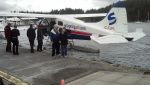 Float plane to Salt Spring Island