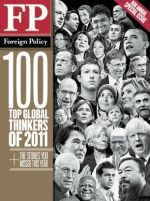 Global Thinkers issue: Foreign Policy Magazine