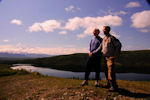 Lester and his son Brian, Denali Wilderness
