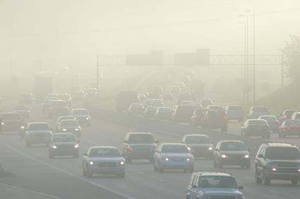 Smog traffic