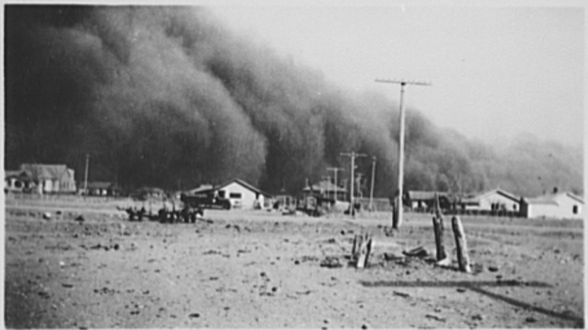 Dust Storms Baca County, Colorado 1930s